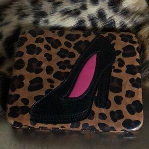 Handbags - Leopard high heel wallet